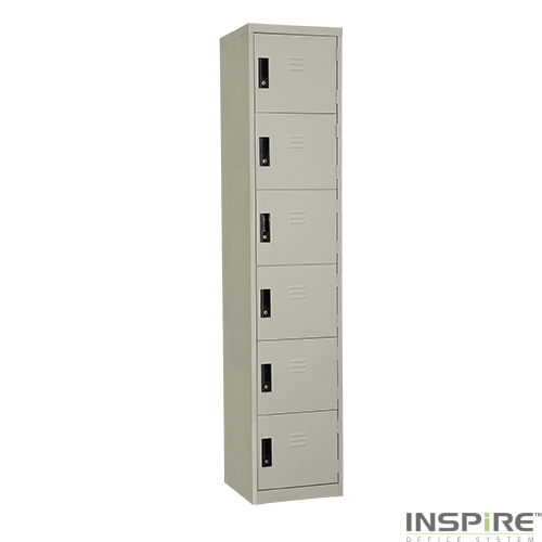 IS306 6 Compartment Steel Locker