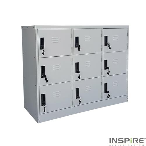 IS368 9 Doors Half Height Locker