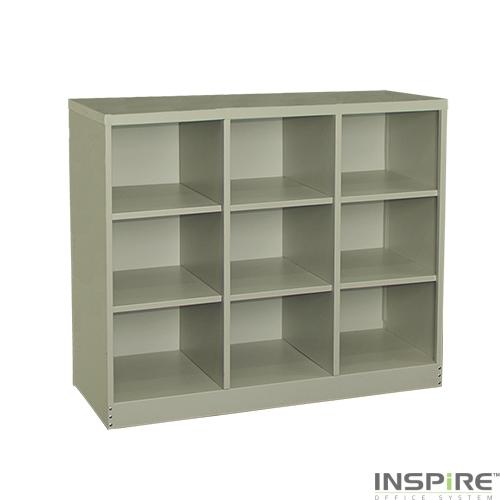 IS411 9 Pigeon Holes Steel Cabinet