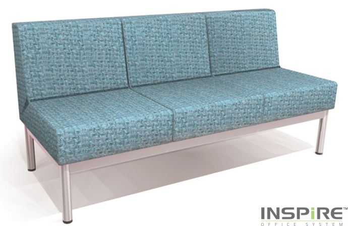 Recept 3 Seater Without Arm Sofa