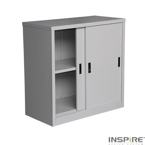 IS203 Half Height Sliding Door Cupboard